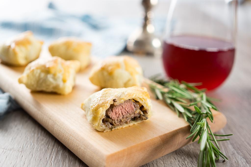 Mini Beef Wellingtons Appetizer