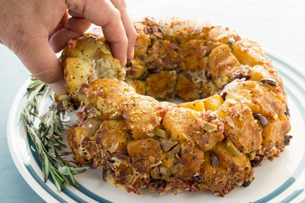 Pull-Apart Parmesan Monkey Bread