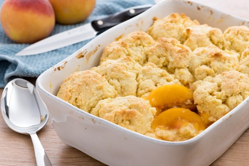 End of the Growing Season Peach Cobbler