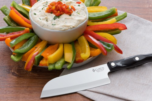 Zesty Herb Dip and Peppers