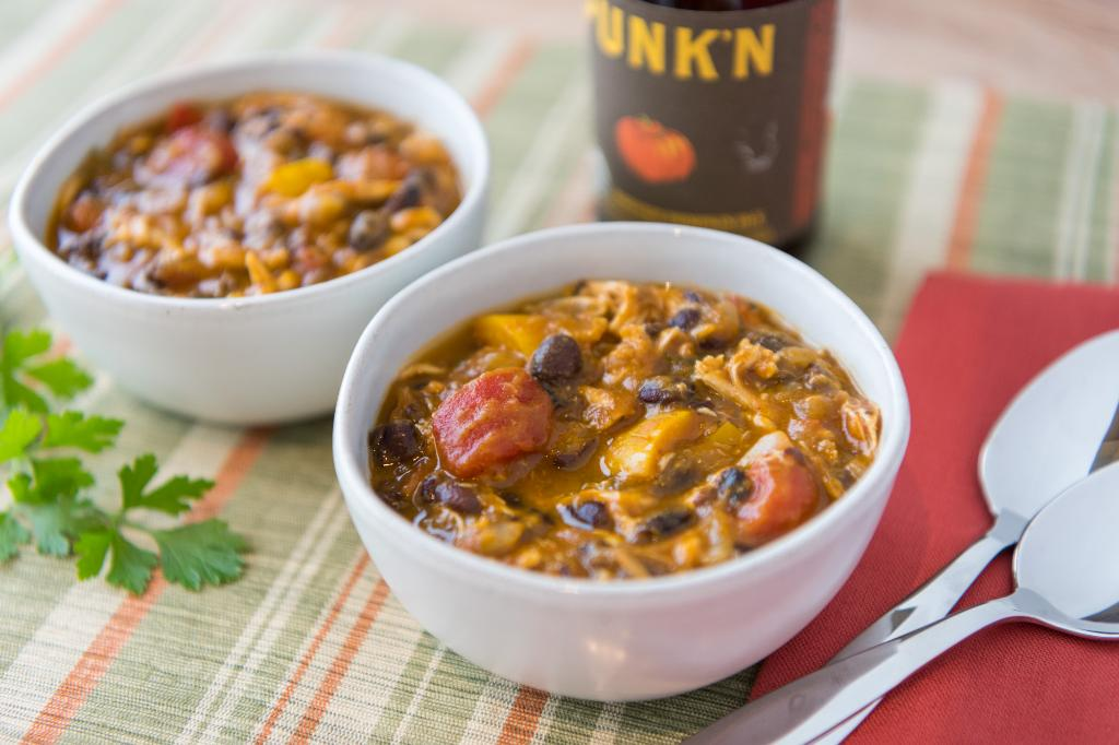 Saturdays With Barb: Pumpkin and Black Bean Chili