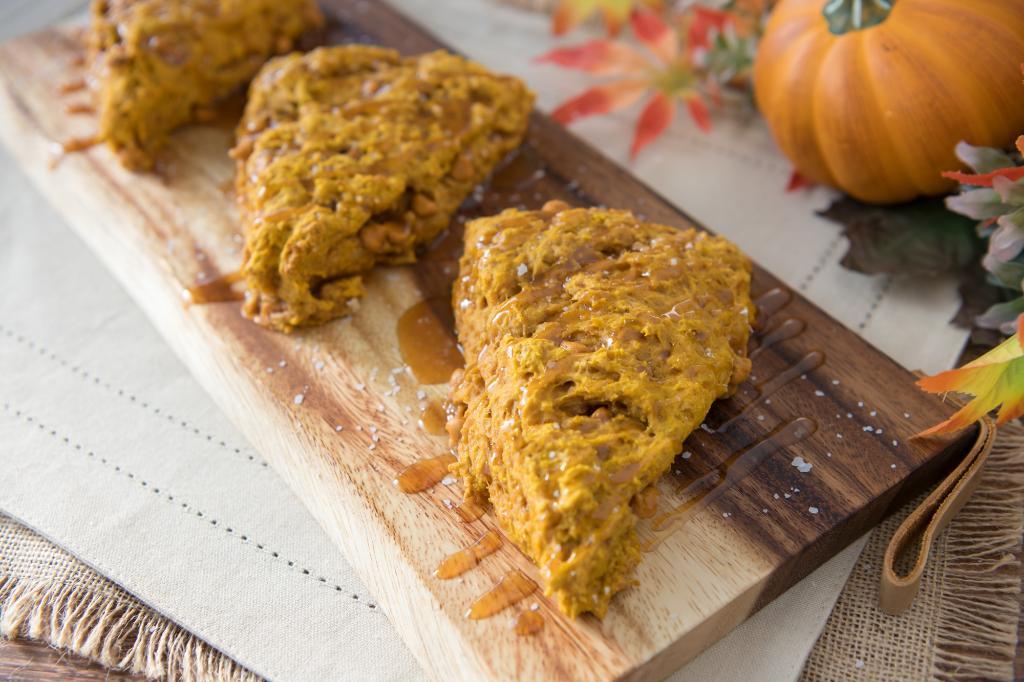 Saturdays With Barb: Pumpkin-Butterscotch Scones