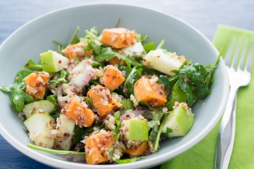 Sweet Potato, Apple and Quinoa Salad