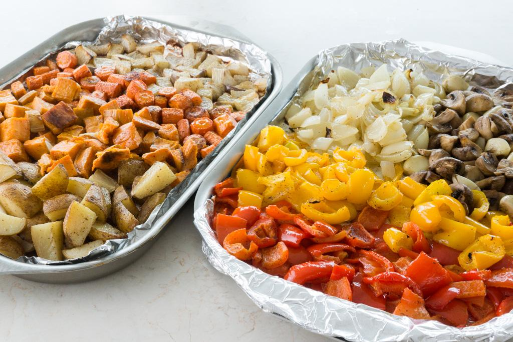 Dress Up Dinner with Roasted Vegetables
