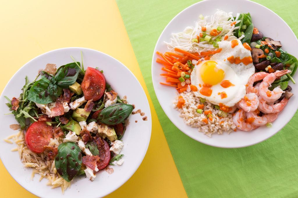 Two Sensational Salad Bowls