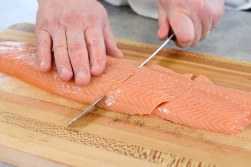 How to Cut Salmon