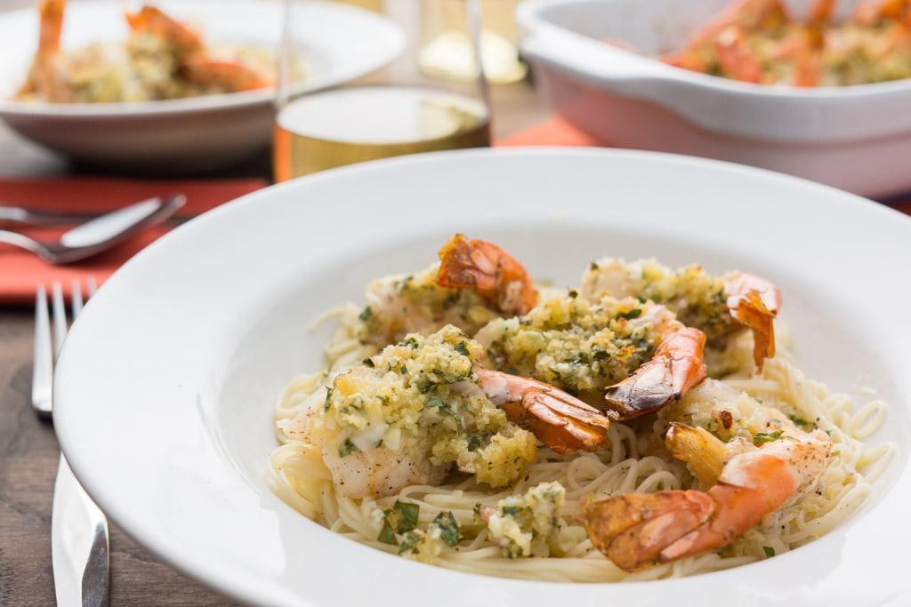 Restaurant-Style Shrimp Scampi at Home