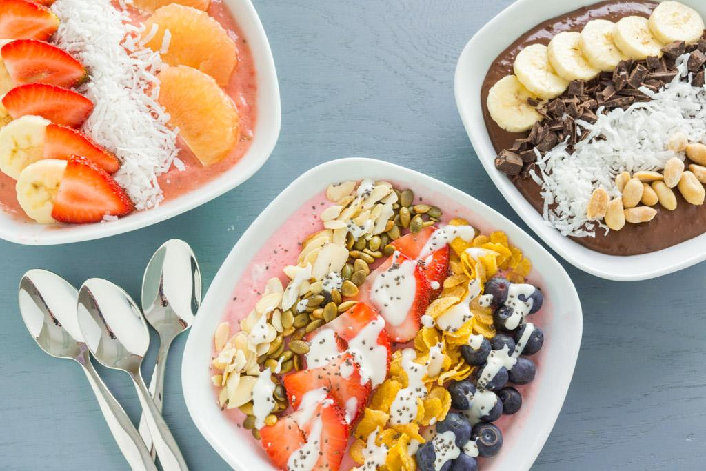 Get Creative With These 3 Smoothie Bowls