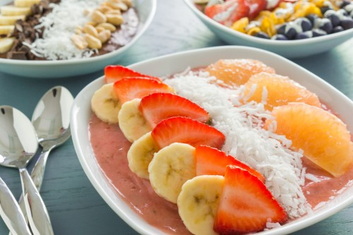 Grapefruit Smoothie Bowl
