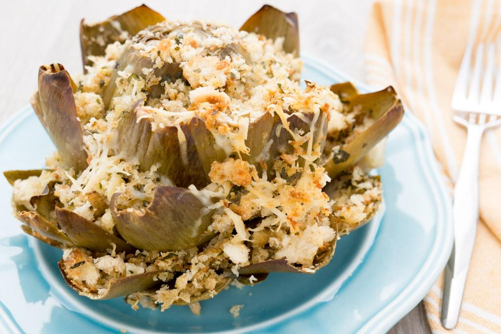 How to Prep and Cook Stuffed Artichokes
