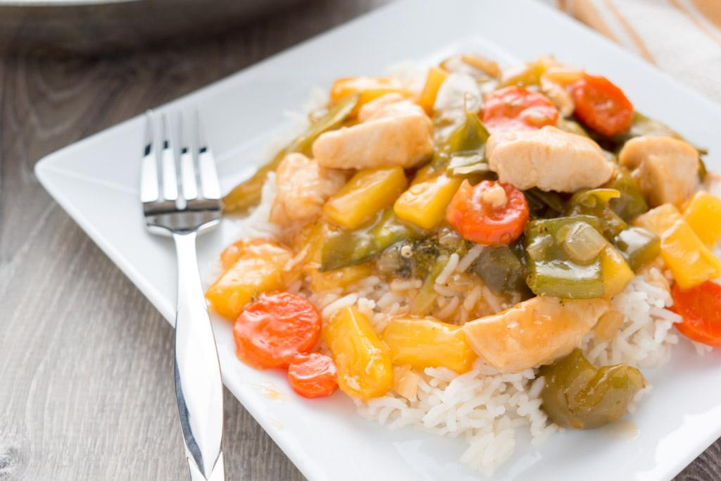 Sweet and Sour Chicken Stir-Fry