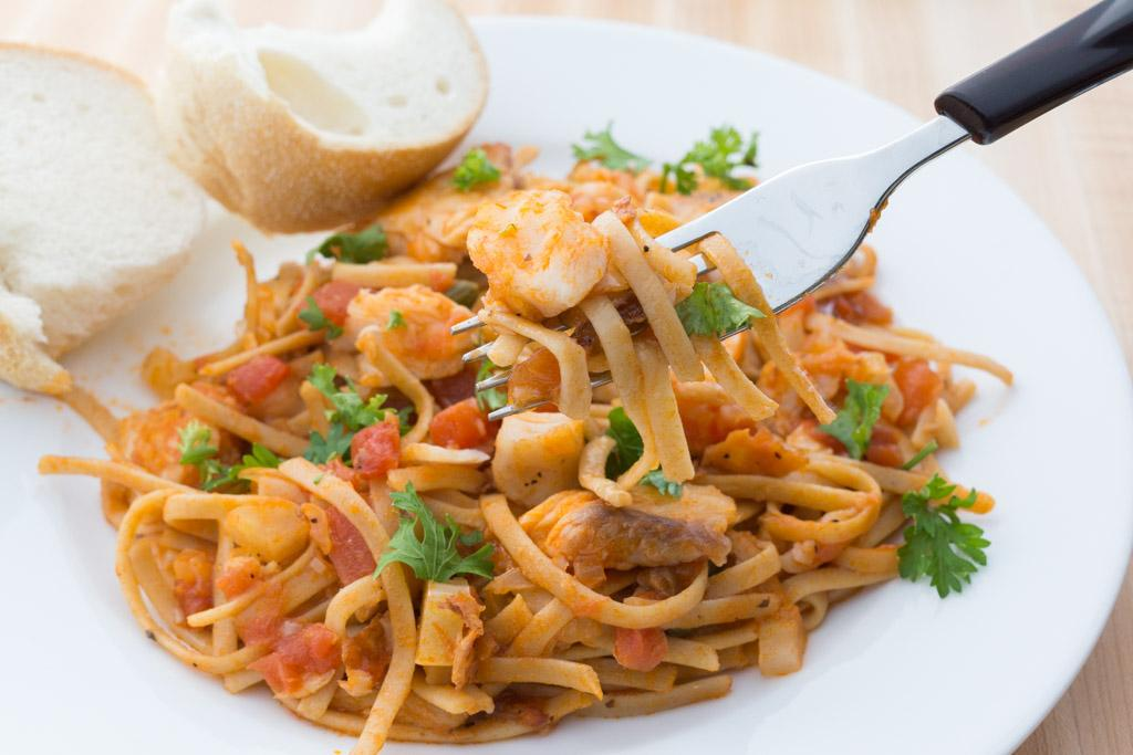 Tilapia Pasta for a Healthful New Year