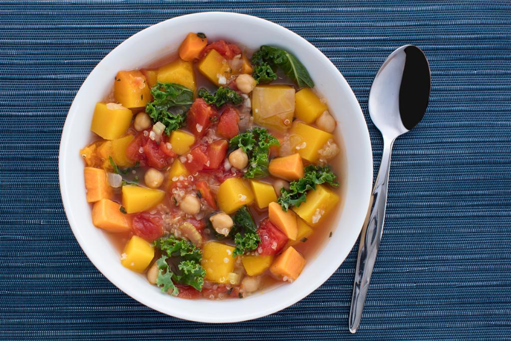 Fall Vegetable Quinoa Soup