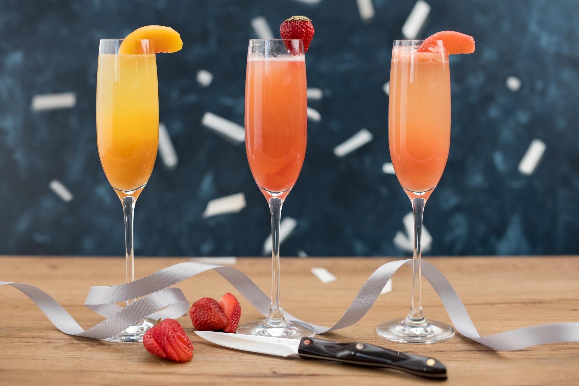 Bellini Cocktail with a Twist