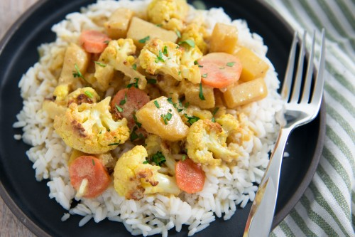 Chef Keith Glover's Cauliflower Curry