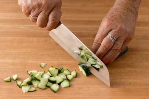 How to Dice a Cucumber