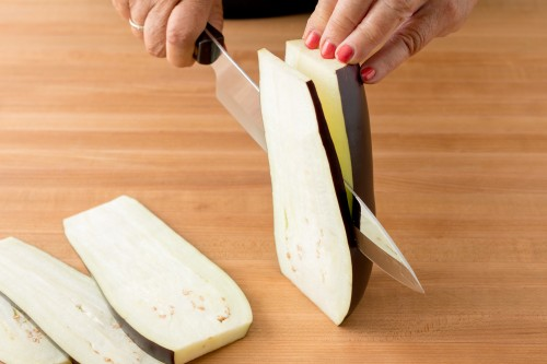 How to Slice Eggplant