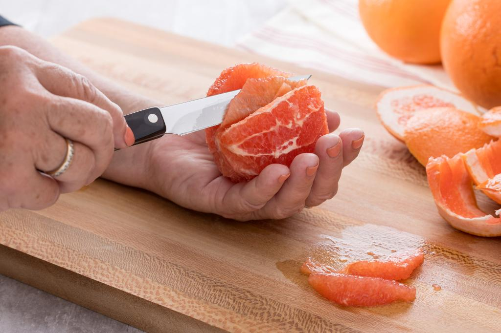 How to Section Grapefruit with a Knife