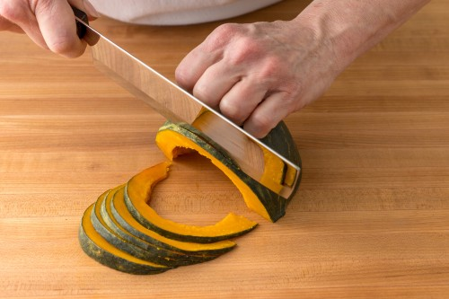 How to Slice Kabocha Squash