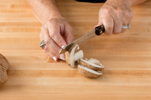 How to Slice Mushrooms
