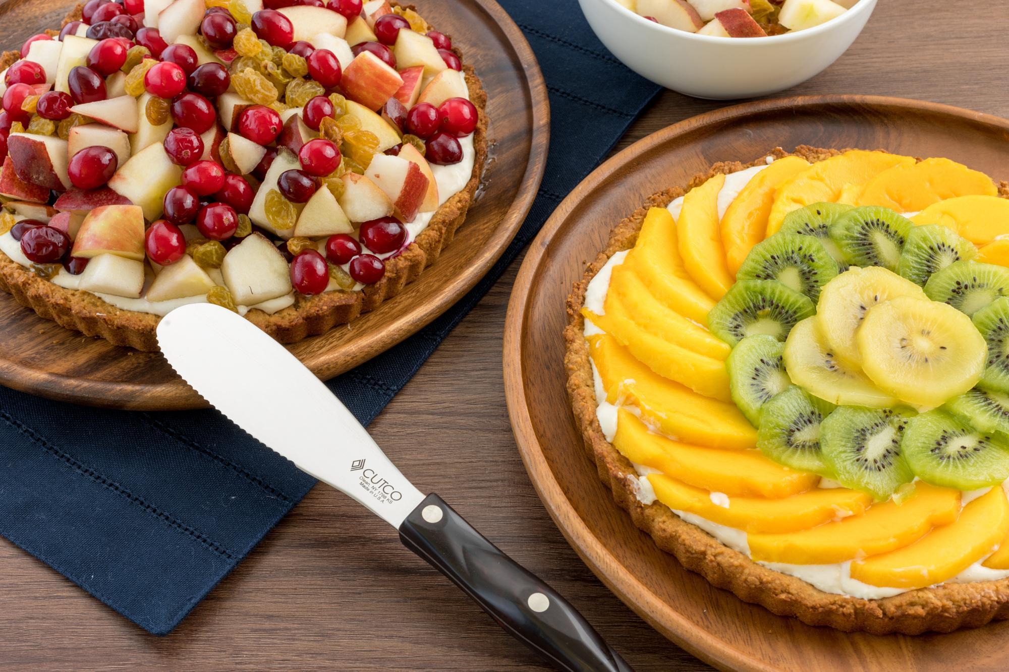 Nut-Crusted Fresh Fruit Tart
