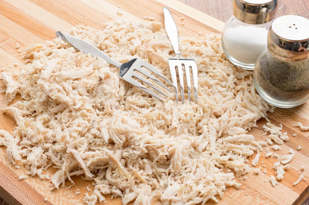 Prep-Ahead Shredded Chicken