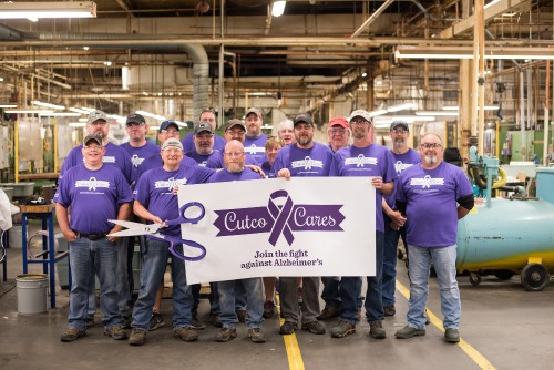Cutco Cutlery Makes Purple Product to Support the Alzheimer's Association