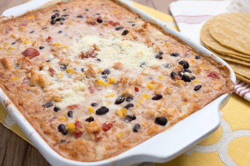 Cooking with Kids: Queso Chicken Bake