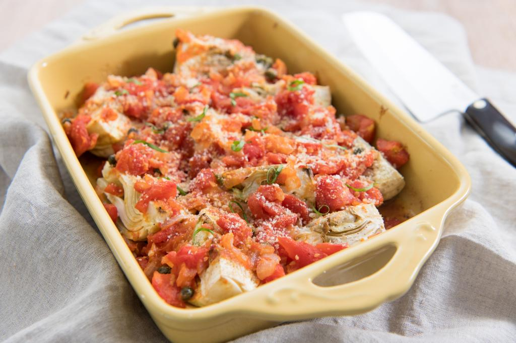 Roasted Fennel with Tomatoes