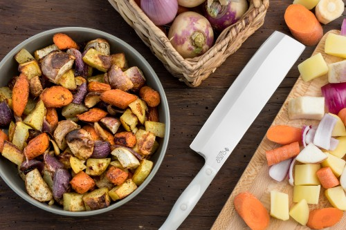 Roasted Root Vegetables with Garlic