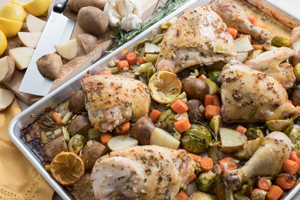 Saturdays With Barb: Sheet Pan Lemon Chicken with Vegetables