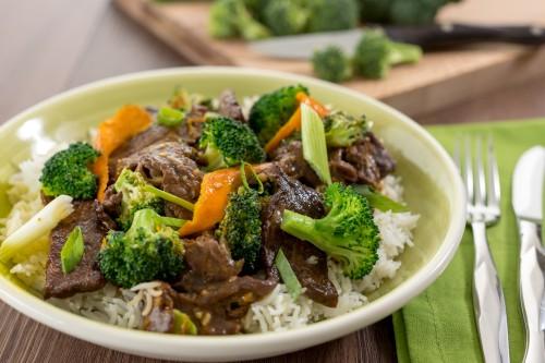 Beef and Broccoli Stir-Fry with Orange Sauce