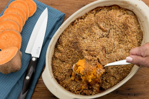 Sweet Potatoes with Crumb Topping