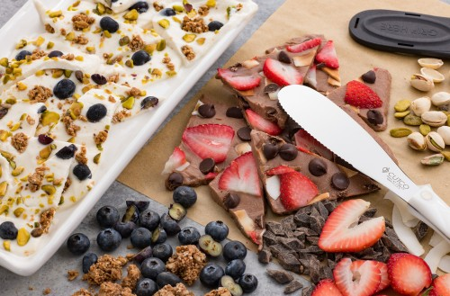 Frozen Yogurt Bark - Two Ways