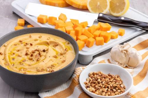 Creamy Butternut Squash Hummus