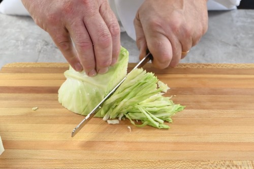 How to Core and Shred Cabbage