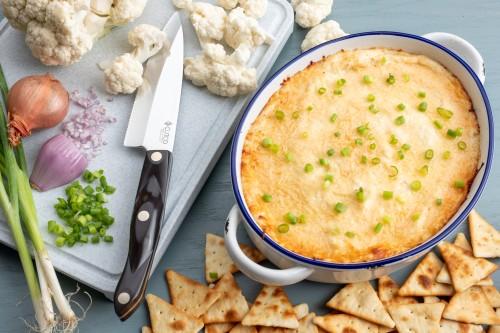 Easy and Cheesy Cauliflower Dip