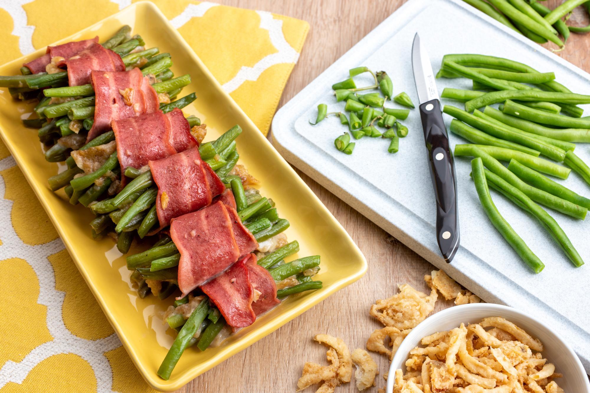 Green Bean Bundles - a Twist on Tradition