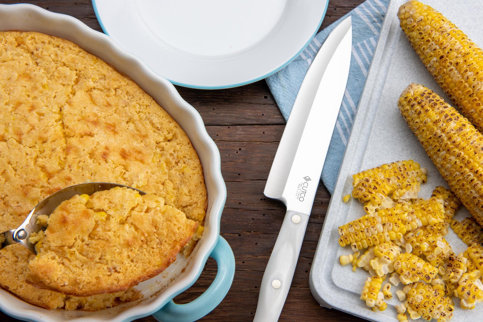 Grilled And Creamed Corn Casserole