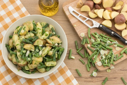 Multi-Cooker French New Potato and Green Bean Salad