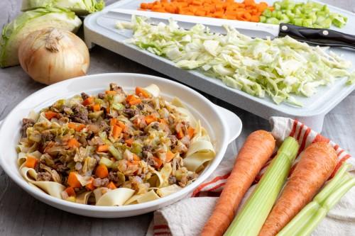 Irish Cabbage and Sausage Stew