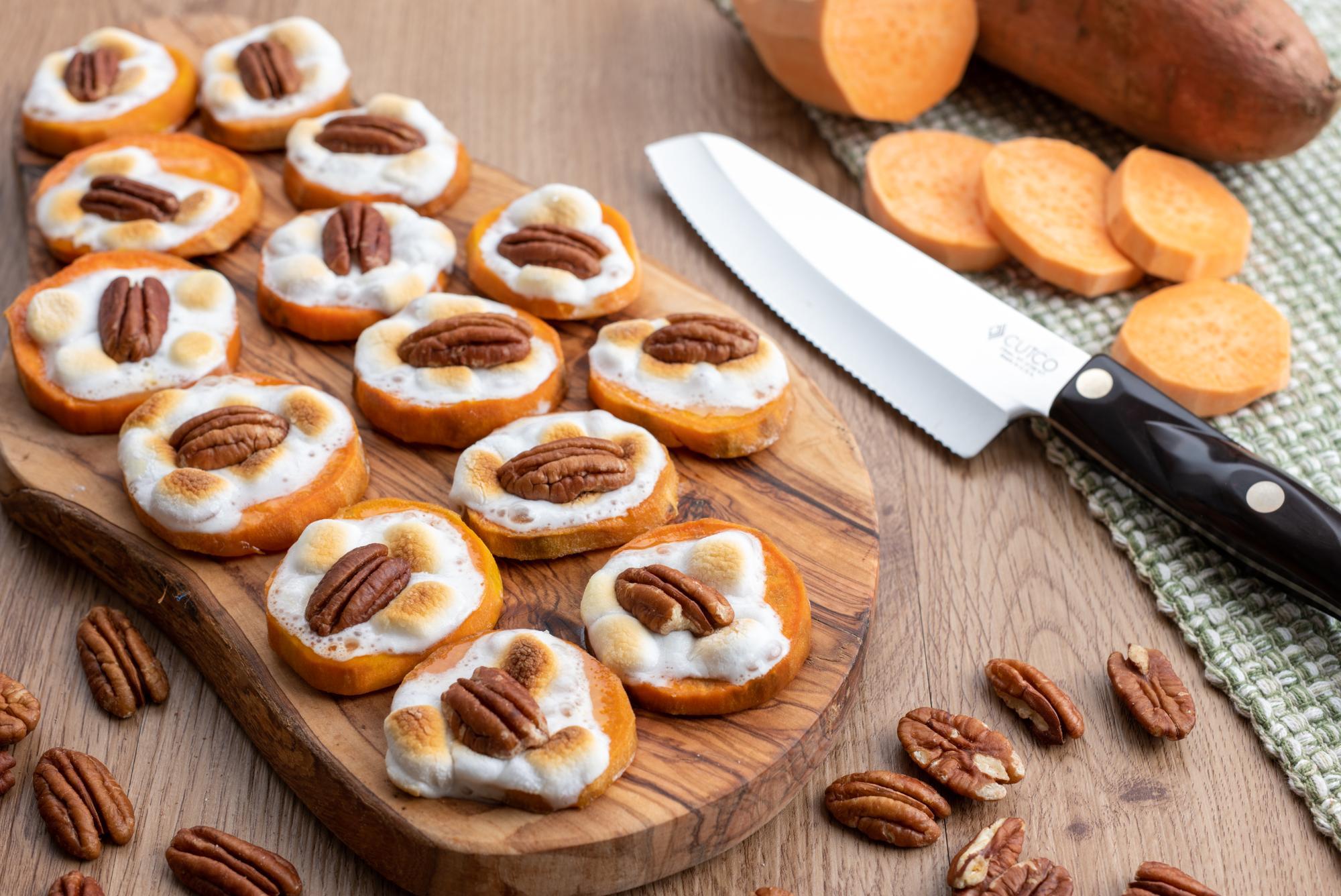 Sweet Potato Bites With Marshmallows