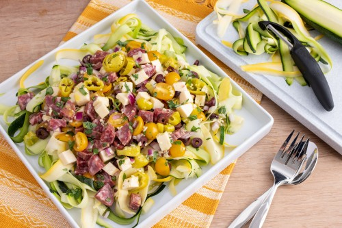 Cold Zucchini Salad For Summer