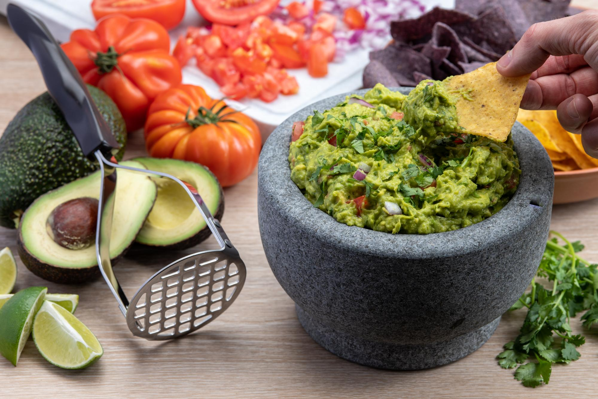 Fresh and Easy Guacamole