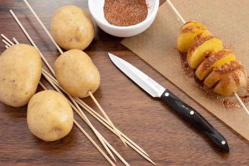 How to Tornado (Spiralize) a Potato