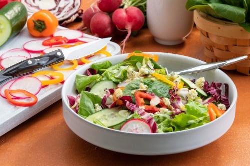 Mixed Green Salad with Fresh Vinaigrette
