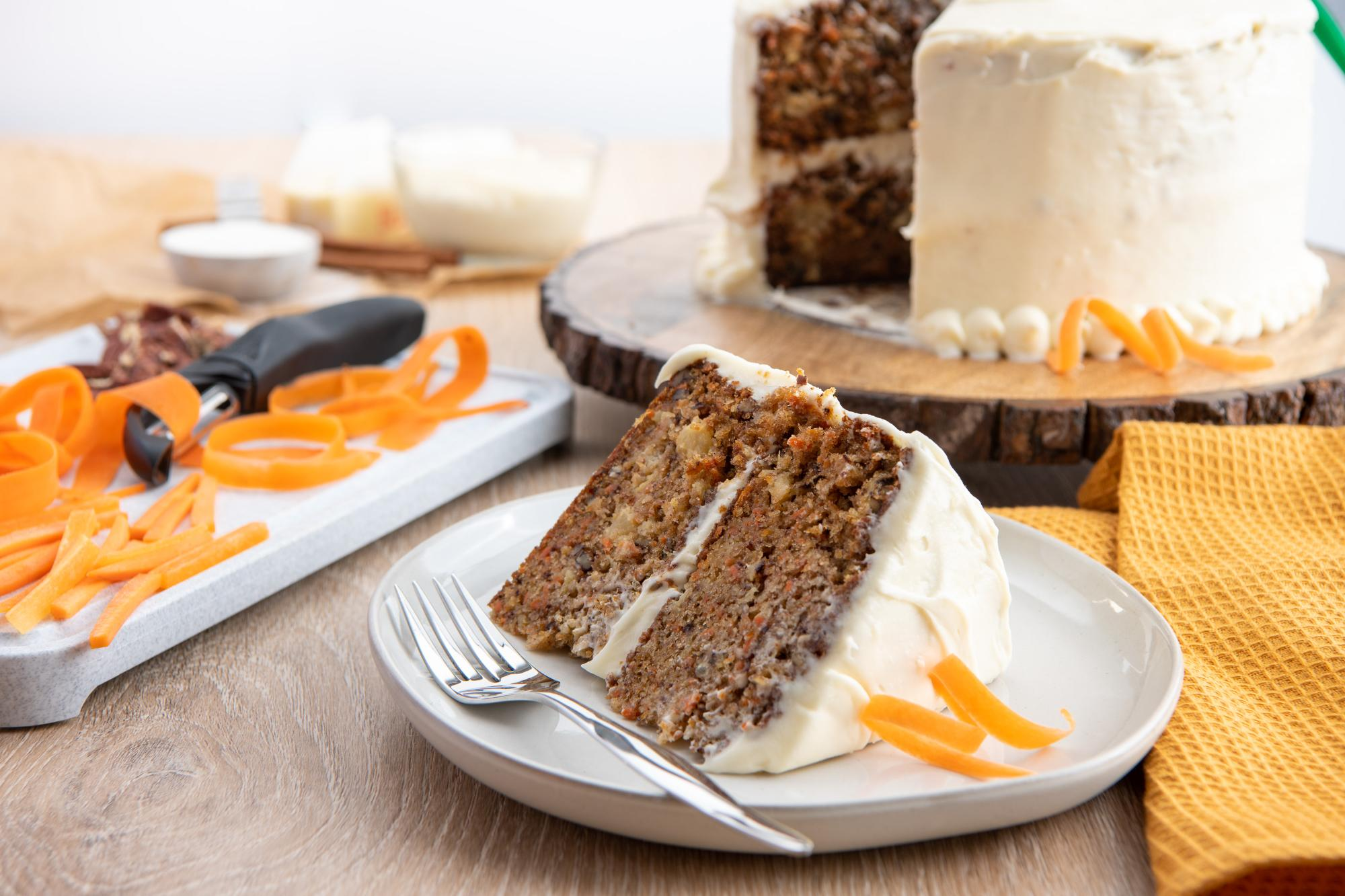 Gwin's Lodge Amazing Carrot Cake with Pineapple