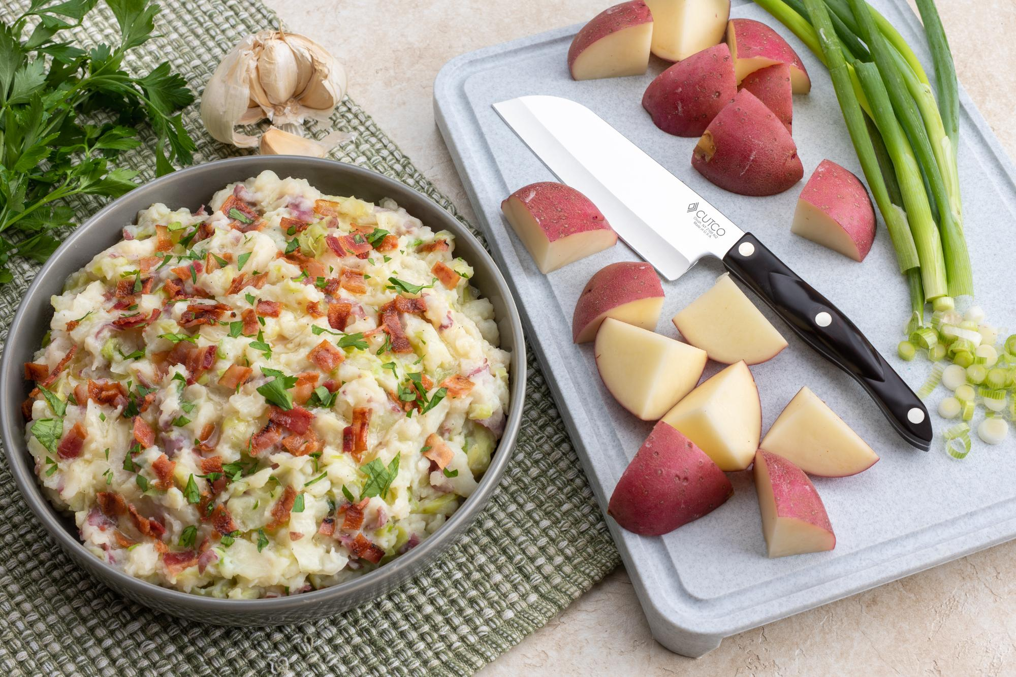 Colcannon Red Potatoes with Cabbage