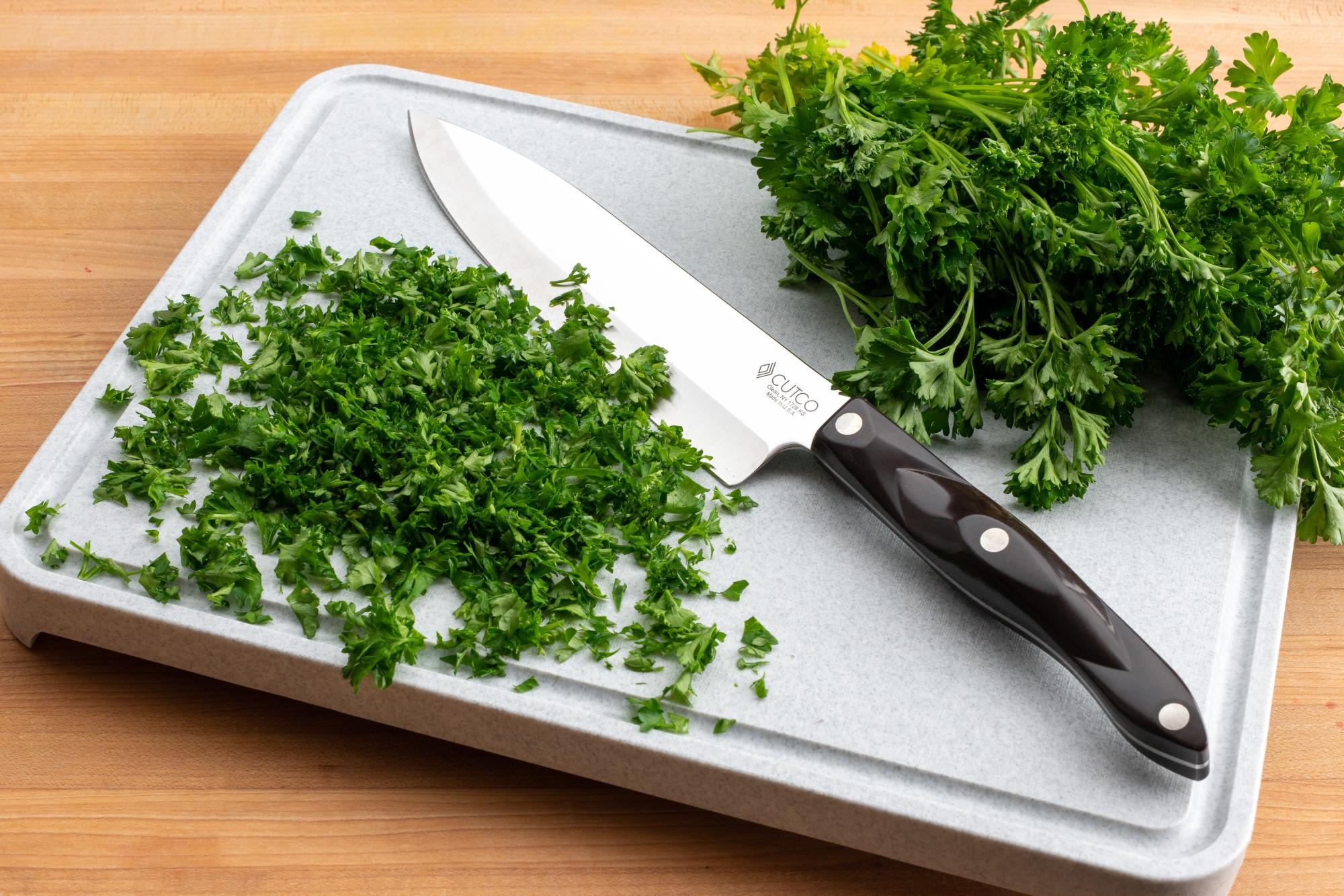 The Easiest Way To Chop Herbs