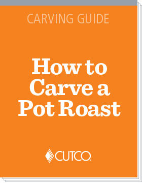 The best way to carve a pot roast